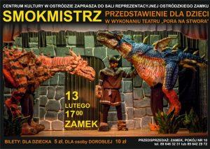 SMOKMISTRZ - TEATR DLA DZIECI @ ul. Mickiewicza 22, Zamek, Sala Reprezentacyjna