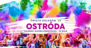HOLI FESTIVAL - ŚWIĘTO KOLORÓW W OSTRÓDZIE @ Bulwar Jeziora Drwęckiego