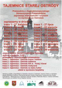 TAJEMNICE STAREJ OSTRÓDY - WYCIECZKA PO OSTRÓDZIE Z PRZEWODNIKIEM @ Start - Zamek w Ostródzie