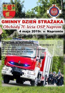 GMINNY DZIEŃ STRAŻAKA. 70-LECIE OSP NAPROM @ Naprom