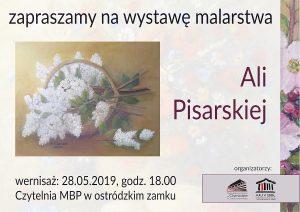 WERNISAŻ WYSTAWY MALARSTWA ALI PISARSKIEJ W OSTRÓDZKIEJ BIBLIOTECE @ Miejska Biblioteka Publiczna w Ostródzie