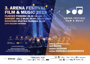 III EDYCJA ARENA FESTIVAL FILM&MUSIC 2019 W EXPO MAZURY @ ul. Grunwaldzka 55