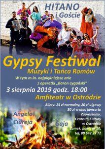"""GYPSY FESTIVAL MUZYKI I TAŃCA ROMÓW """"HITANO"""" I GOŚCIE @ Amfiteatr w Ostródzie"""