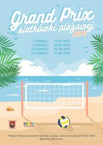 GRAND PRIX LATO 2019 W SIATKÓWCE PLAŻOWEJ NA PLAŻY NAD JEZIOREM SAJMINO @ Plaża nad Jeziorem Sajmino