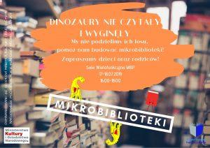BUDOWANIE OD PODSTAW TRZECH MIKROBIBLIOTEK DLA KSIĄŻEK W MBP MORĄG @ Miejska Biblioteka Publiczna w Moragu