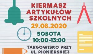 KIERMASZ ARTYKUŁÓW SZKOLNYCH NA TARGOWISKU PRZY UL. PIONIERSKIEJ W OSTRÓDZIE @ ul. Pionierska, Targowisko