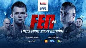 GALA FEN 29: LOTOS FIGHT NIGHT OSTRÓDA - TRAILER @ amfiteatr w Ostródzie